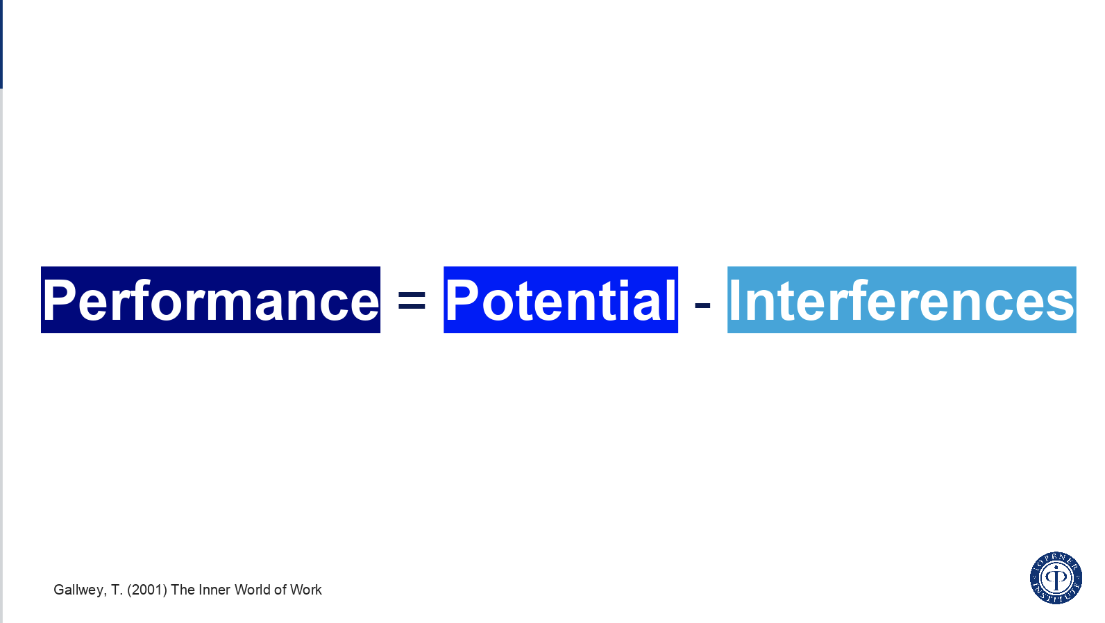 Performance=potential-Interface